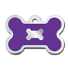 Dog ID Tags | Purple Bone | Personalized