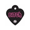 Dog ID Tags | Bitch | Personalized, Engraved