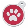Dog Cat ID Collar Tags | Red Paw