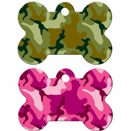Dog ID Tags | Camouflage | Personalized, Engraved