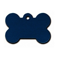 Small Dog Collar ID Tags | Blue Bone