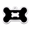 Dog ID Tags | Black Bone | Personalized, Engraved