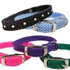 Rainbow Puppy Collar | Premium Soft Weave Nylon