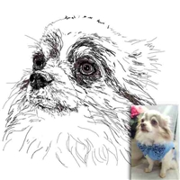Custom Dog, Cat or Pet Portrait | Pet Memorial
