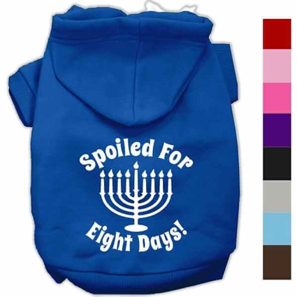 Hanukkah Dog Hoodies | Spoiled for 8 Days