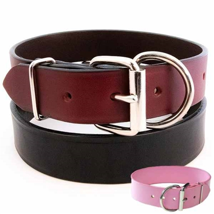 Tuff Stuff Leather Dog Collars