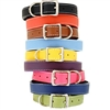 Tuscany Italian Leather Dog Collars