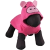 Pink Hooded Dog Sweater | Pig Costume