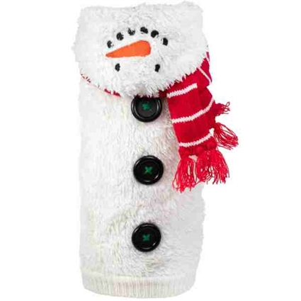 Snowman Hooded Dog Sweater