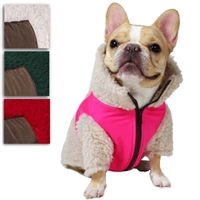 Monkey Fleece Dog Coat