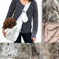 Fur Baby Sling Dog Carrier