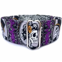 Martingale Greyhound Dog Collar | Skull Mansion