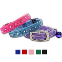 Safety Stretch Kitten Collar with Bell