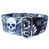Martingale Dog Collar | Scroll Skulls