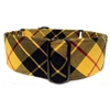 Scotch Tartan Plaid Martingale Dog Collar