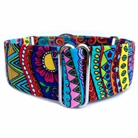 Wild Colors Martingale Greyhound Dog Collar