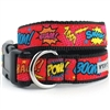 Superhero Comic Strip Dog Collar