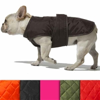 Quilted Dog Coat with Berber Fleece
