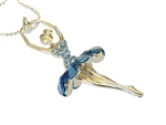 Ballerina Rhinestone Necklace - You Go Girl! Dancewear