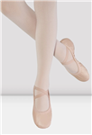 BLOCH Child Girls Odette Split Sole Leather Ballet Shoes without Drawstring - You Go Girl Dancewear!