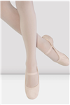 BLOCH Girls / Ladies Giselle Full Sole Leather Ballet Shoes without Drawstring - You Go Girl Dancewear!