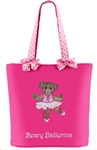 Sassi Designs BBR-01 Beary Ballerina Tote - You Go Girl Dancewear