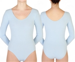 BP Designs Custom Made Plus Size Women's Long Sleeve Leotard