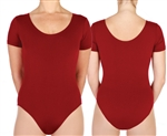 BP Designs Custom Made Plus Size Women's Short Sleeve Leotard - You Go Girl! Dancewear