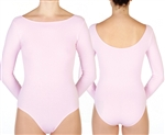 Baltogs Custom Made Long Sleeve Boat Neck Leotard