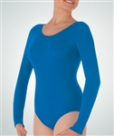 Body Wrappers Plus Long Sleeve Leotard
