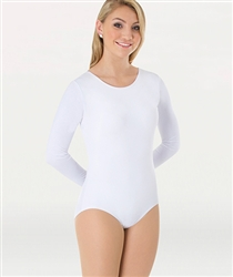 Body Wrappers Plus Size  Long Sleeve Leotard with Snaps - You Go Girl Dancewear