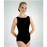 Body Wrappers Plus Size Tank High Neck Leotard - You Go Girl Dancewear
