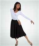 Body Wrappers Girls Below the Knee Circle Skirt - You Go Girl Dancewear