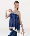 Body Wrappers Girls Sleeveless Tunic Pullover