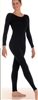 Body Wrappers Child Long Sleeve Nylon Unitard