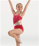 Body Wrappers Girls Double Strap Camisole Leotard
