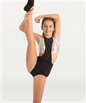 Body Wrappers Girls Two-Piece Leotard Set