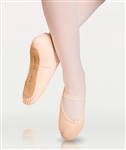 Body Wrappers Full Sole Leather Pleated Ballet Slipper - You Go Girl Dancewear!