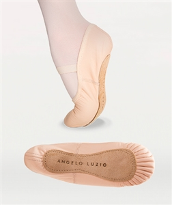 Body Wrappers Child Full Sole Leather Pleated Ballet Slipper - You Go Girl Dancewear!