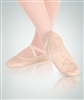 Body Wrappers Sterling Split Sole Leather Pleated Ballet Slipper - You Go Girl Dancewear