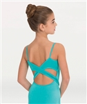 Body Wrappers Tweens Camisole Leotard with Shirred Side Front Inserts - You Go Girl Dancewear