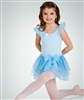 Body Wrappers Child Chiffon Tank Leotard with skirt