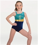 Body Wrappers Youth Asymmetrical Leotard