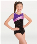 Body Wrappers Youth Velvet Tank Leotard