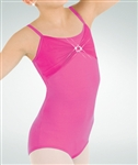 Body Wrappers Rhinestone Dance Camisole Leotard - You Go Girl Dancewear