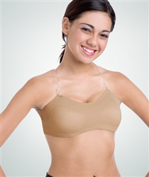 Body Wrappers Padded Bust Convertible Halter and or Camisole Bra