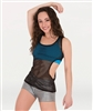 Body Wrappers Tween Elliptical Mesh Pullover