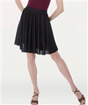 Body Wrappers Women's Above-the-Knee Circle Skirt - You Go Girl Dancewear