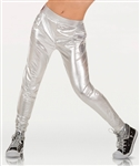 Body Wrappers Adult Slim Fit Metallic Pant