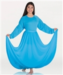 Body Wrappers Women's Praise Dance Circle skirt in Sizes Small to 2X